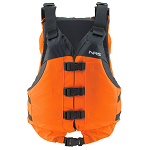 NRS Big Water V PFD | Type V: When you want to float serious water you need a serious life jacket. The NRS Big Water V is a high flotation jacket with a universal fit that wraps easily around anyone's torso.