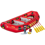 NRS R120 Rescue Raft | Deluxe Kit | Water Rescue Raft | Scuba Center -- Eagan, Minnesota, USA